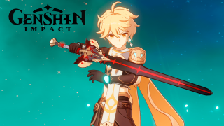 Genshin Impact arma Espada Negra