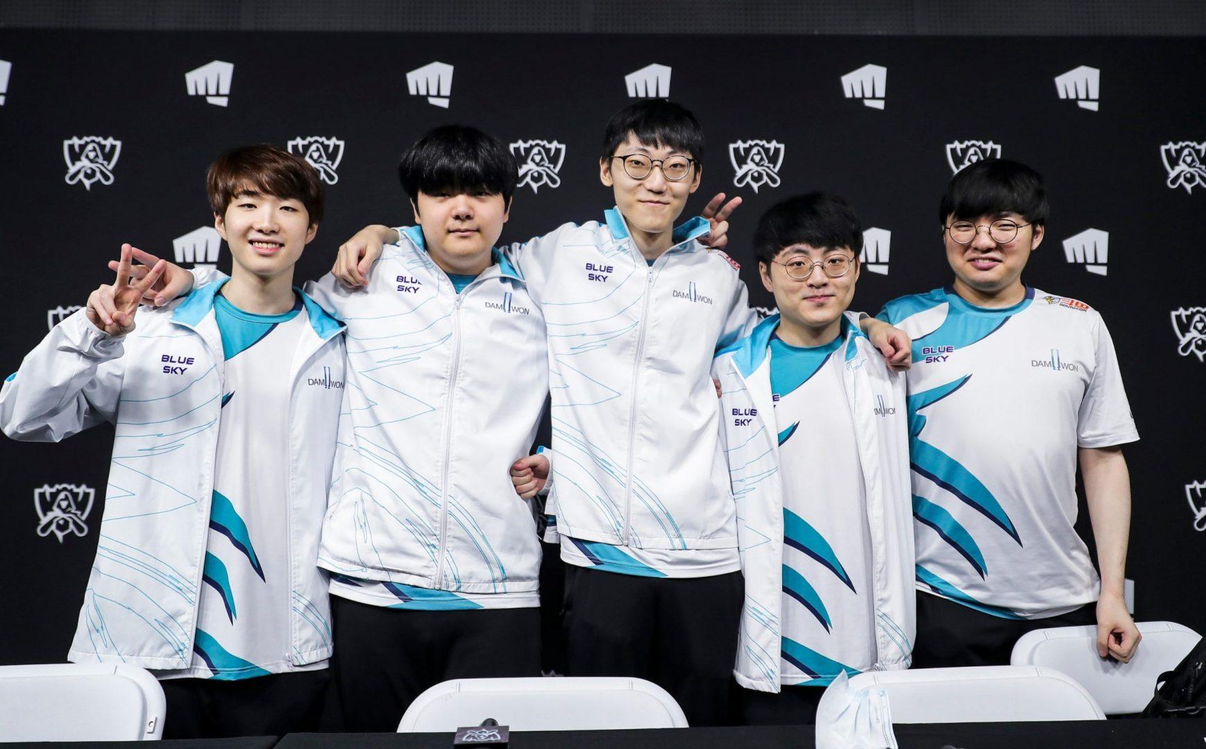 Damwon Gaming worlds 2020 lol