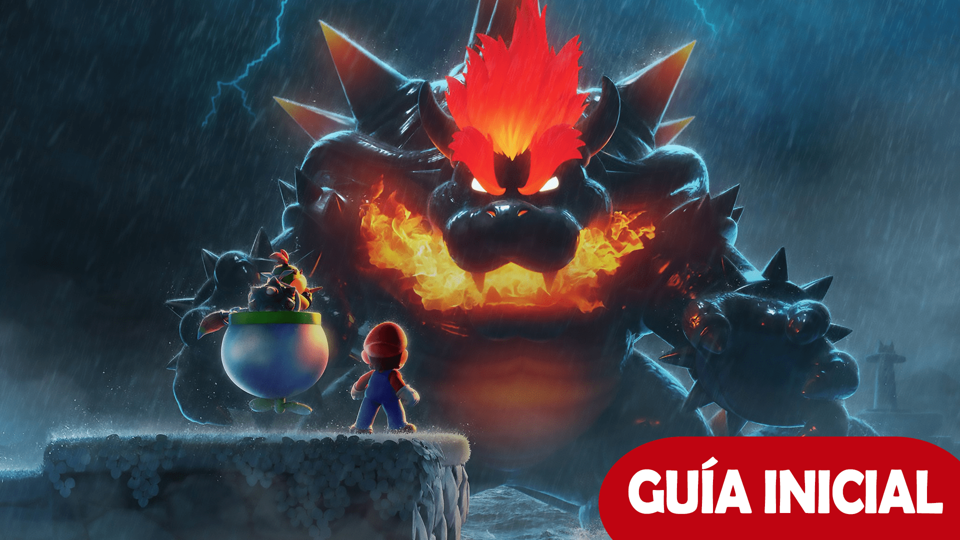 Super Mario Guía Bowser Fury